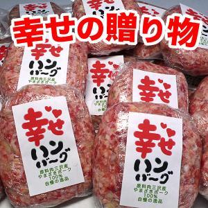 幸せハンバーグ 冷凍 8個 豚肉(やまざきポーク青森県産)|bbq