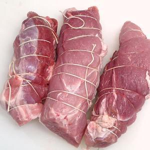 豚肉 国産 豚モモ(やまざきポーク青森県産) ブロック 糸巻き1本 約450g 煮豚・焼豚用|bbq