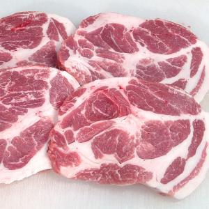 ステーキ とんかつ用 豚肉 国産 豚肩ロース(やまざきポーク青森県産) 500g|bbq