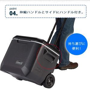 コールマン エクストリーム 5 ホイール クーラー 50QT 容量約47L キャスター付き クーラーボックス 大型 bbrbaby 07