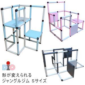 DIO ジャングルジム Sサイズ 遊び方3通り 室内 プレイジム 大型遊具