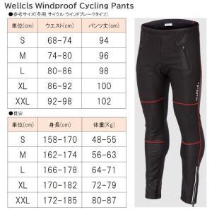 Wellcls 冬用 サイクル ウインドブレー...の詳細画像3