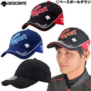 デサント コットングラフィックキャップ Move Sport DMANJC03 2019年NEWモデル 帽子 メンズ レディース スポーツ 一般用|bbtown