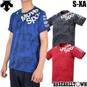 デサント ジャガードグラフィックTシャツ 一般 大人 メンズ 男性 半袖 トレーニングウェア トップ...