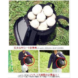 野球 エナメルボールケース デカ文字刺繍サービス 軟式球 約3ダース収納可 ボールバッグ FBC-36 フィールドフォース|bbtown|03