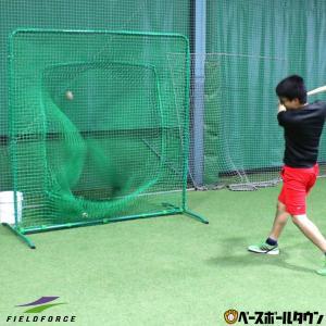 野球 バッティング用ネット ダブルネット 硬式球対応 2m×2m 打撃 練習用品 FBNT-2023W フィールドフォース ラッピング不可|bbtown