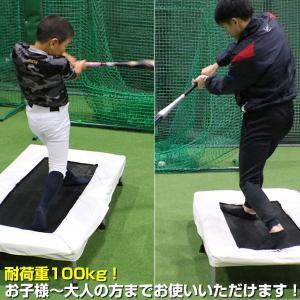 野球 バッター用トランポリン 打撃練習専用  6ヶ月保証付 一般・ジュニア兼用 体幹 下半身強化 FBTP-1480 フィールドフォース|bbtown|05