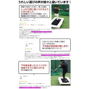 野球 バッター用トランポリン 打撃練習専用  6ヶ月保証付 一般・ジュニア兼用 体幹 下半身強化 FBTP-1480 フィールドフォース|bbtown|07