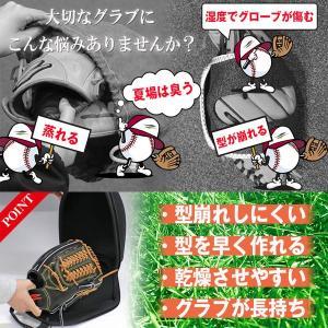 野球 グローブ用ハードケース グラブケア メンテナンス用品 FGHC-1000 フィールドフォース|bbtown|02