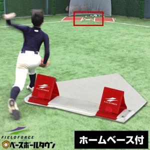選べるホームベース付き 野球 練習 制球力UPの秘密兵器 コントロール・エボリューション FHBC-100 フィールドフォース|野球用品ベースボールタウン