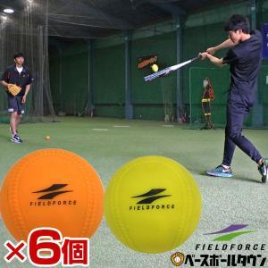 空気入れおまけ アイアンサンドボール 6個セット 軟式野球ボールM号 C号サイズ FIMP-680 FIMP-720 フィールドフォース