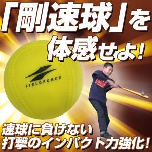 野球 練習 アイアンサンドボール 軟式M・J号サイズ 重さ約3倍 インパクトパワーボール FIMP-681J FIMP-721M フィールドフォース|bbtown|02