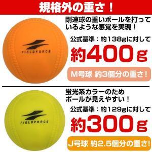 野球 練習 アイアンサンドボール 軟式M・J号サイズ 重さ約3倍 インパクトパワーボール FIMP-681J FIMP-721M フィールドフォース|bbtown|05