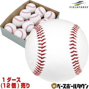 野球 硬式練習球 1ダース(12個)売り Bグレード 硬式球 硬球 練習用 FKB-350 フィールドフォース|bbtown