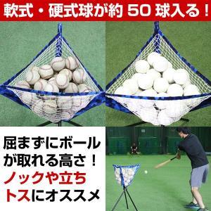 野球 折りたたみ式ボールケース ボール別売り 専用収納バッグ付き 約50球収納可 ボールバッグ FSBC-3 ラッピング不可 bbtown 03