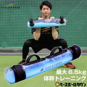 ウォーターバック 最大6.5kg 体幹トレーニング 野球 サッカー フットサル フィールドフォース ...