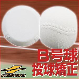 野球 スローイングボール B号球サイズ 軟式用 B球 投球 ピッチング 練習用品 FBB-700B フィールドフォース|bbtown