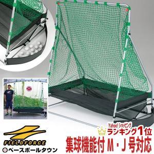 野球 バッティングネット 集球機能付き 軟式用 2.0×1.6m ターゲット・ペグ付き FBN-2016AR2 フィールドフォース ラッピング不可|bbtown