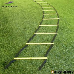 トレーニング ラダー 6m 連結可能 トレーニングマニュアル付 基礎体力 野球 サッカー フットサル 練習用品 FST-600R フィールドフォース|bbtown