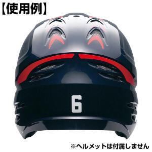 SSK アクセサリ ヘルメットナンバーステッカー 野球 HNS02k メール便可|bbtown|03