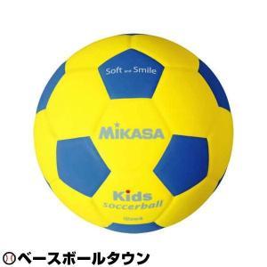 ミカサ サッカーボール キッズサッカー軽量4号 180g 青/黄 SF4-YBL 少年用 ジュニア P5_SCメンズ|bbtown