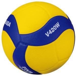 ミカサ バレーボール 練習球4号 V420W