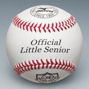 ミズノ ボール 野球 少年硬式用試合球 リトルシニア 1BJBL60100 少年用 ジュニア|bbtown