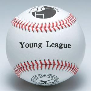 ミズノ ボール 野球 少年硬式用試合球 1ダース ヤングリーグ 1BJBL71200 取寄 少年用 ジュニア|bbtown