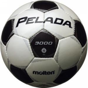 モルテン サッカーボール ペレーダ3000 4号球 シャンパンシルバー×メタリックブラック F4P3000メンズ|bbtown