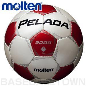 モルテン フットボール ペレーダ3000 5号球 シャンパンシルバー×メタリックレッド F5P3000-WR P5_SCメンズ|bbtown