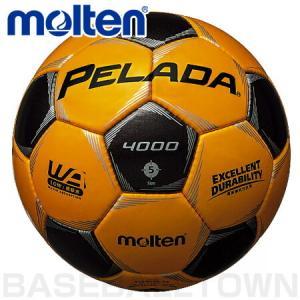 モルテン フットボール ペレーダ4000 5号球 メタリックイエロー×メタリックブラック P5_SCメンズ|bbtown
