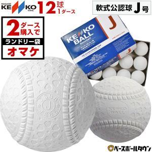 2点で暦球おまけ ナガセケンコー 軟式野球ボール J号 小学生向け ジュニア 検定球 1ダース売り 新公認球 J球