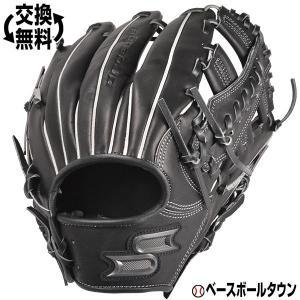 SSK グローブ 野球 軟式 プロエッジ 内野手用 右投げ サイズ6S ブラック PEN85419F...
