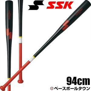 SSK ノックバット 野球 木製 リーグチャンプFUNGO 94cm 580g平均 SBB8004|bbtown