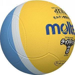 モルテン ドッジボール ライトドッジ 0号球 レモン×サックス SLD0LSK メンズ