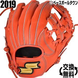 SSK グローブ 野球 軟式 少年 スーパーソフト オールラウンド 右投げ Rオレンジ SSJ951 ジュニア|bbtown