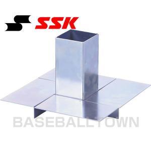 SSK 野球 ベース固定金具 メス金具1個 YM100KBR|野球用品ベースボールタウン