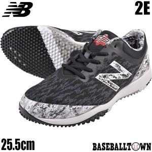 トレーニングシューズ 野球 ニューバランス ローカット ブラック×カモ T4040V5 2019後期カラー T4040PK5 野球 一般 トレシュー|bbtown