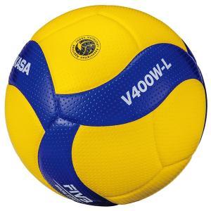 ミカサ バレーボール 4号球 小学校試合球 軽量球 V400W-L MIKASA
