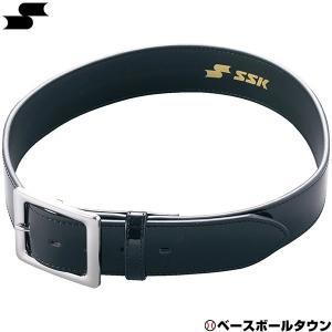 SSK 野球 審判用ベルト エナメルタイプ 一般用 ブラック サイズ調整不可 YV295 大人 審判...