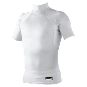 ゼット アンダーシャツ 半袖 野球 ジュニア用 PCW ハイネック ホワイト BPRO111ZJ-1100 少年用|bbtown