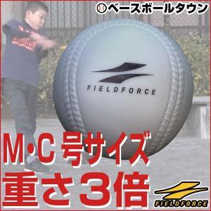 アイアンサンドボール 軟式M・C号サイズ 大きさそのまま&重さ約3倍 フィールドフォース