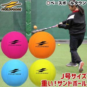 ハンドポンプおまけ 野球 練習 4個セット アイアンサンドボール 軟式J号サイズ 4色 約200g WFIMP-680 フィールドフォース