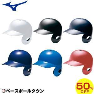 ヘルメット ミズノ mizuno 軟式野球用 右打者用 2HA307
