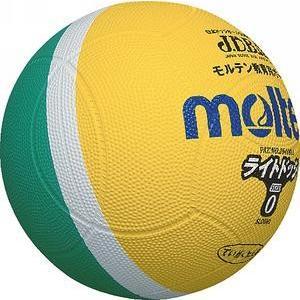 モルテン ドッジボール ライトドッジ 0号球 黄×緑 SLD0MLメンズ