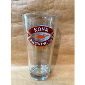 ハワイビールのコナビール各種をおいしく飲む専用グラスです。 高さ15cm 直形8.5cm