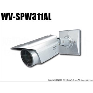 WV-SPW311AL 防犯カメラ Panasonic パナソニック i-PRO SmartHD 屋外ハウジング一体型ネットワークカメラ(HD)〈取付金具別売〉(代引不可・返品不可)