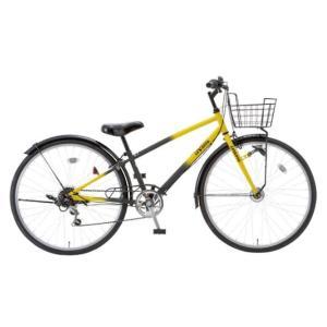 ♪送料無料♪ 塩野自転車 『レヴァント』 (24CS-HD-J) イエロー/ブラック|bcfujioka
