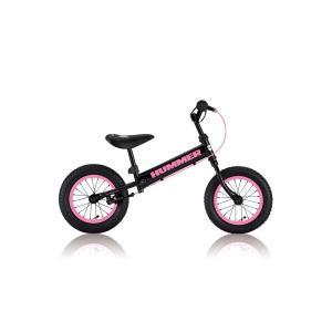 ハマー 『HUMMER TRAINEE Bike(バランスバイク)』(4571233058121)黒/ピンク|bcfujioka
