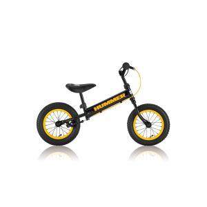 ハマー 『HUMMER TRAINEE Bike(バランスバイク)』(4571233058138)黒/黄 bcfujioka